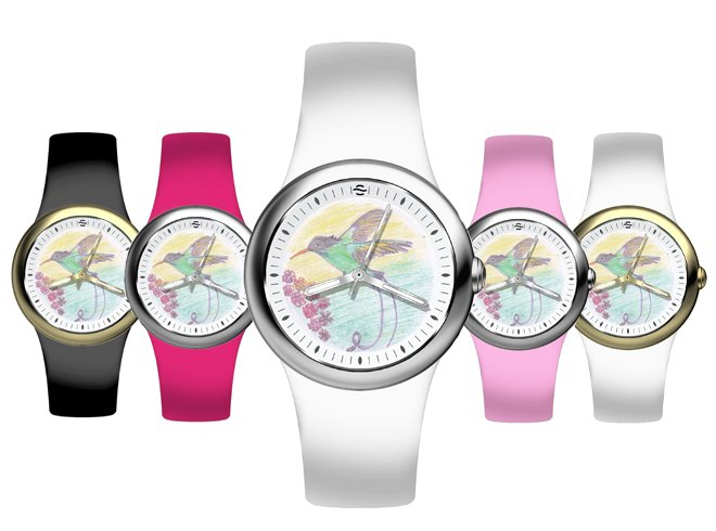 Fruitz Jamaica Hummingbird Watch