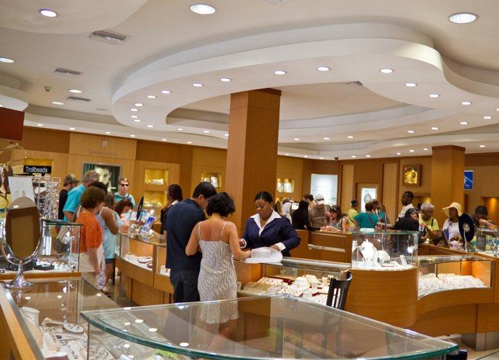 Inside Rose Hall Store