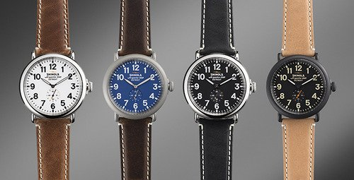 Shinola Men Watches Group shot
