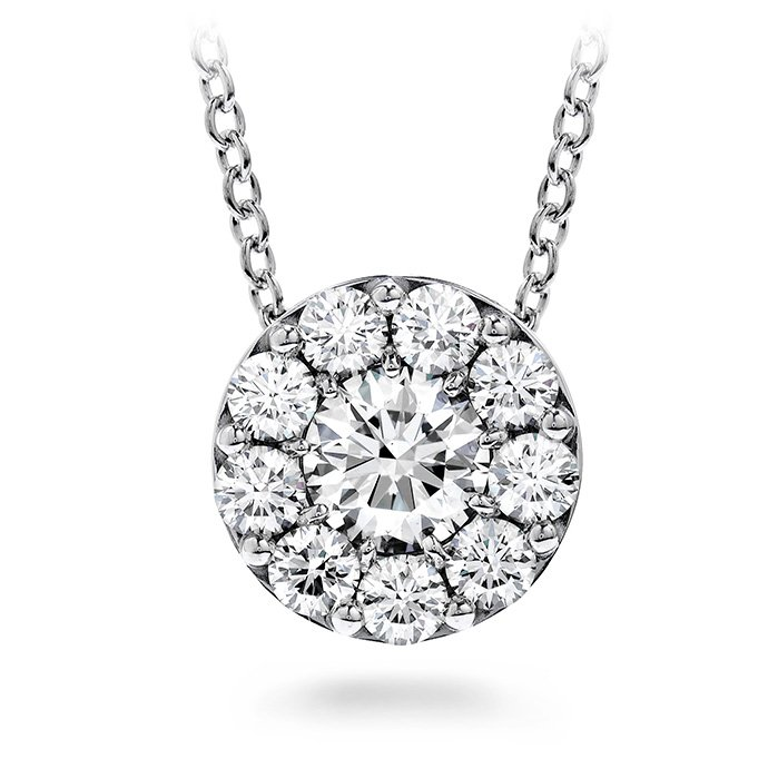 Pendant - Fulfillment 0.50 ctw. Hearts On Fire Diamonds in 18K White Gold 2