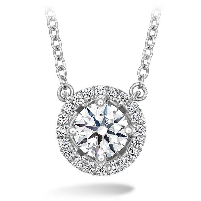 Necklace - Joy Pendant 0.16 ctw. Hearts On Fire Diamonds in 18K White Gold 2