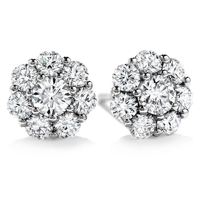 Earrings - Beloved Studs 1.10 ctw. Hearts On Fire Diamonds 18K White Gold 2