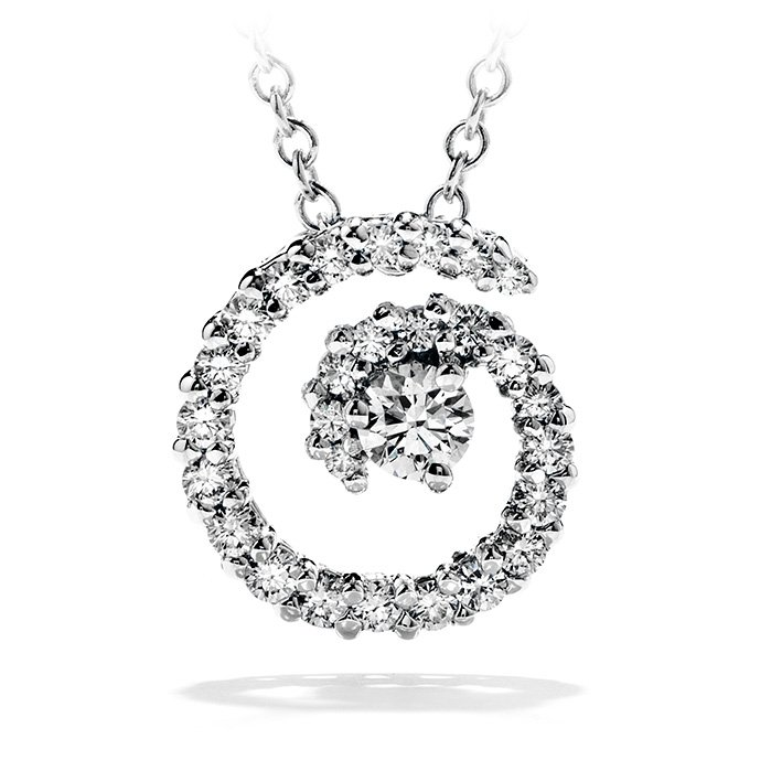 Pendant - Mystical Journey 0.35 ctw. Hearts On Fire Diamonds in 18K White Gold 2