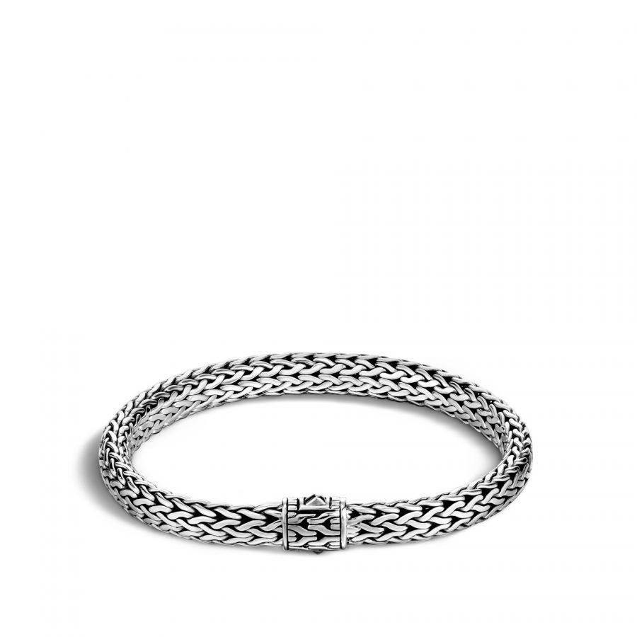 Classic Chain 6.5MM Bracelet in Silver - Medium 2
