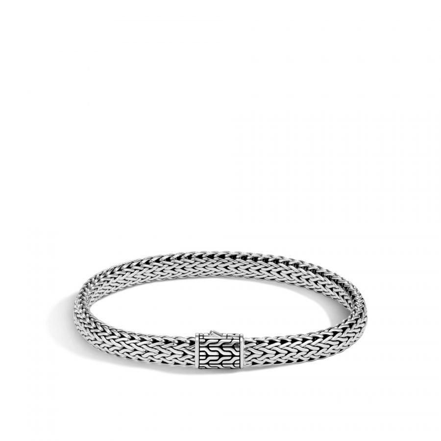 Classic Chain 7.5MM Bracelet in Silver - Medium 2