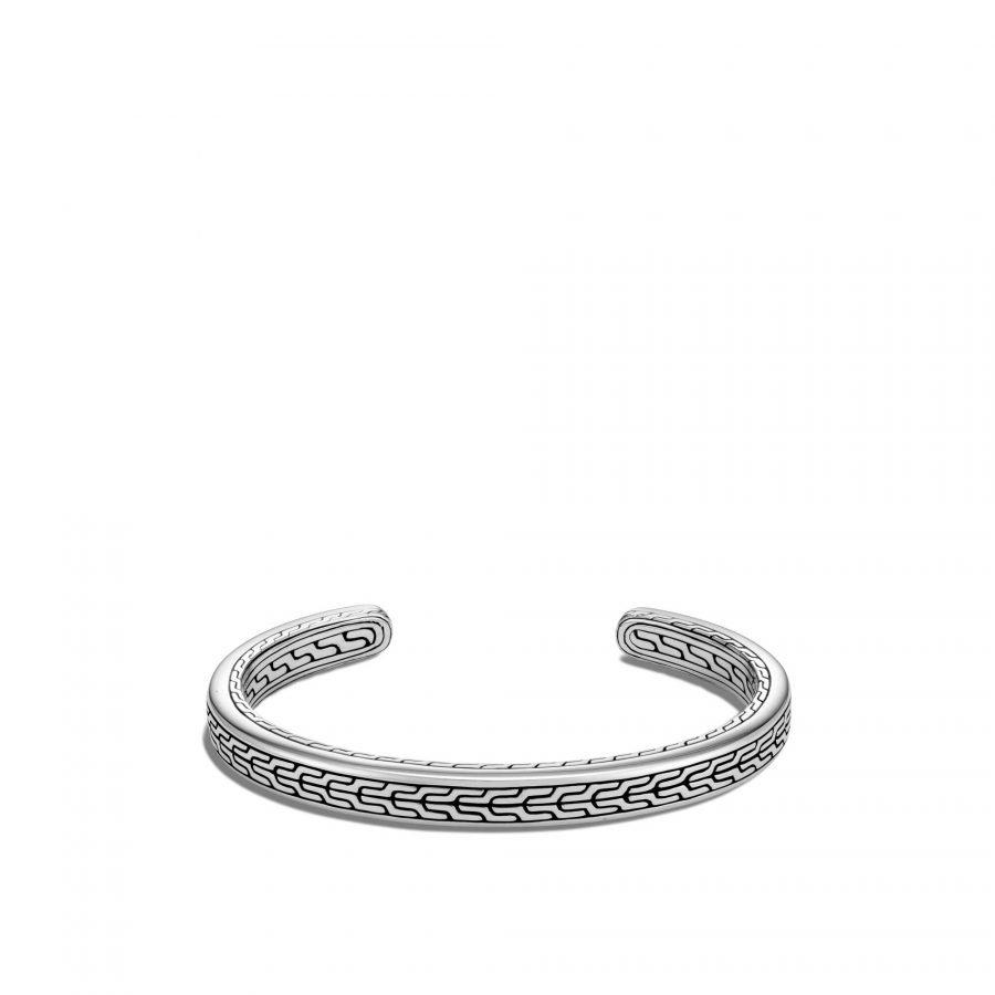 Classic Chain 7MM Cuff in Silver 2
