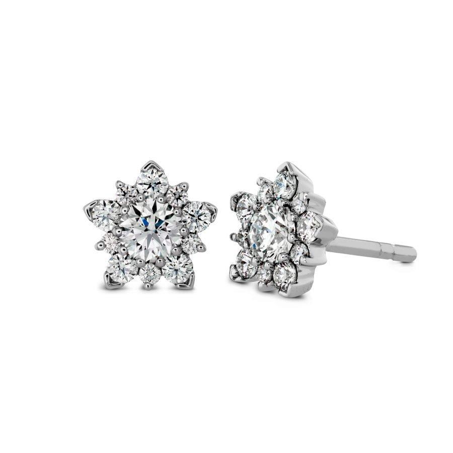 Earrings - Aerial 0.55 ctw. Hearts On Fire Diamonds in 18K White Gold 2