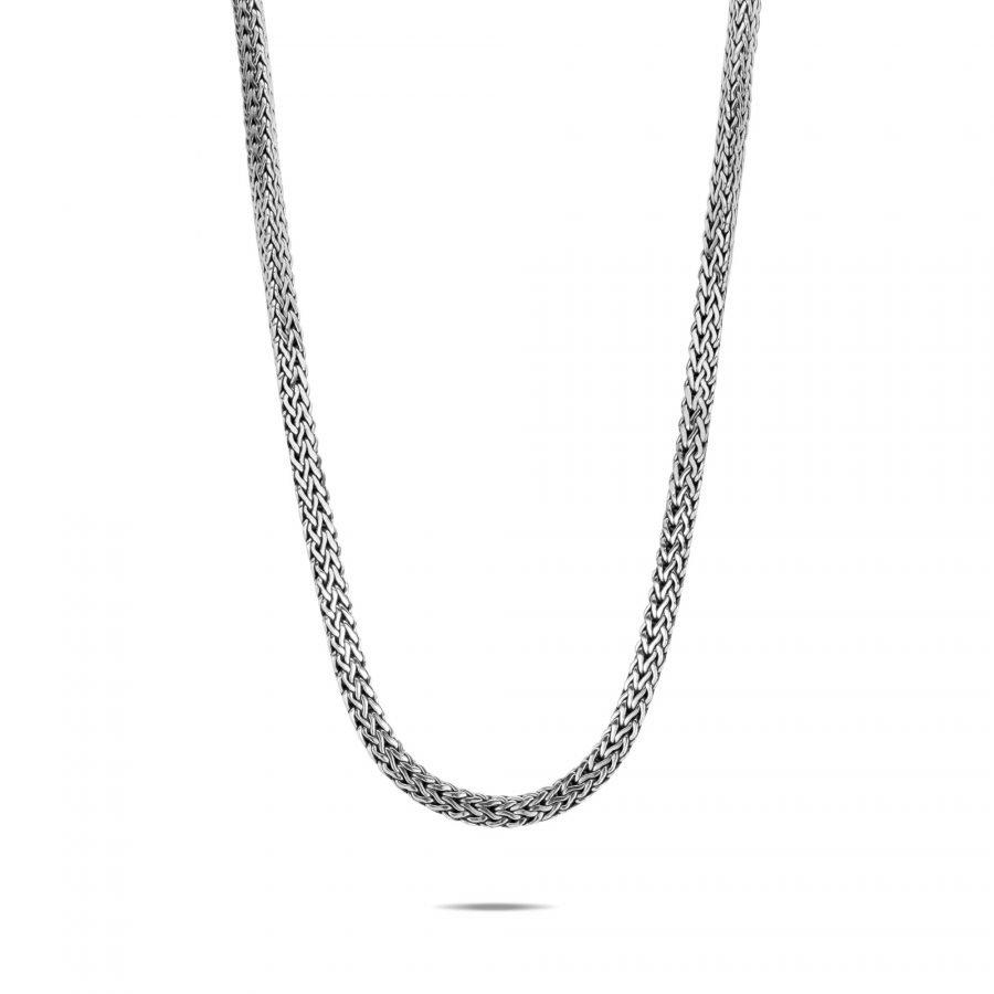 Tiga Classic Chain 8MM Necklace in Silver 2