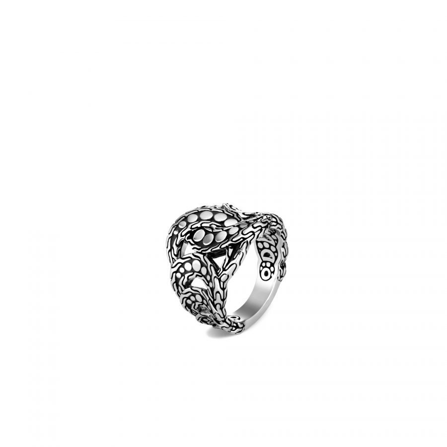 Dot Ring in Silver - Size 7 2