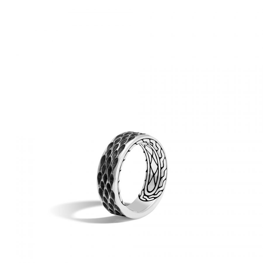 Legends Naga 7.5MM Band Ring in Silver - Size 10 2
