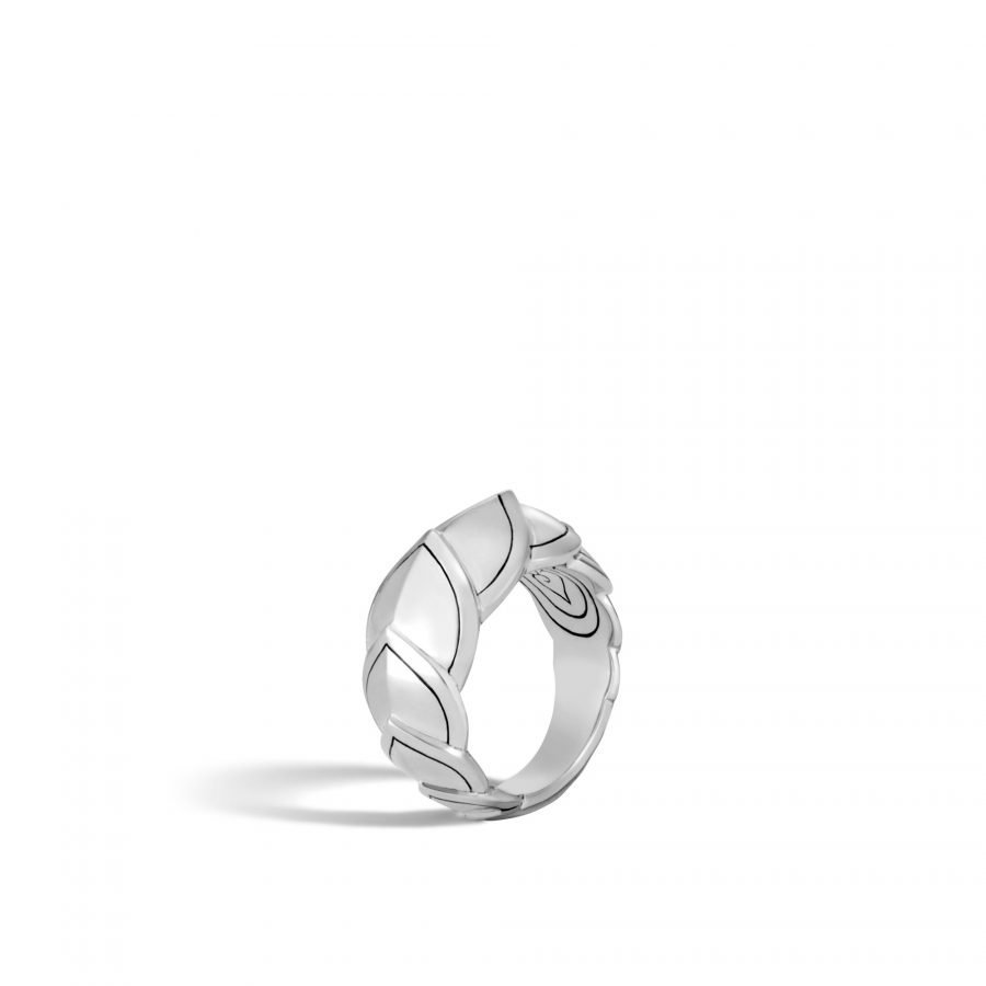 Legends Naga 11.5MM Ring in Silver - Size 7 2