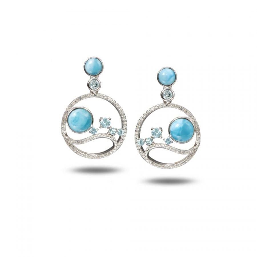 Earrings - Larimar 2