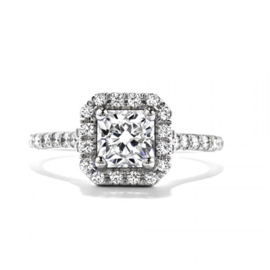 Ring - Transcend Dream 1.14ctw. Hearts On Fire Diamonds in 18K White Gold 2