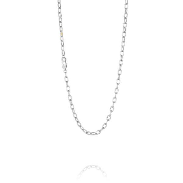 "Necklace - Tacori Link Silver Chain 18"" 2"