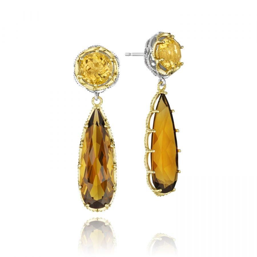 Earrings - Tacori Honeycomb 2