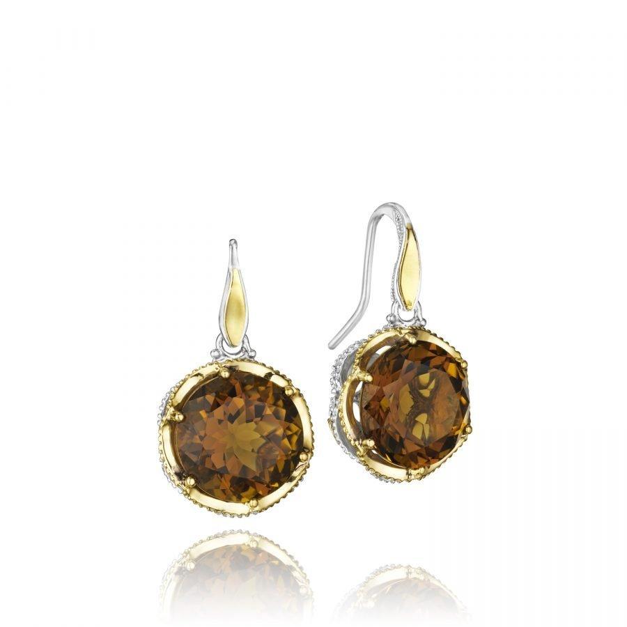 Earrings - Tacori Cognac Quartz 2