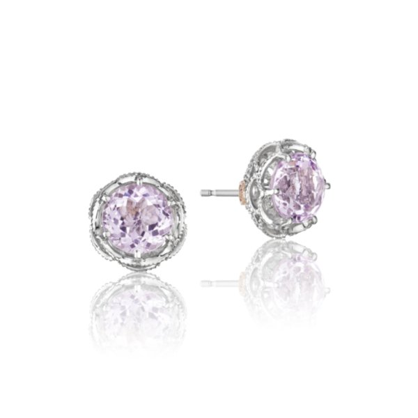 Earrings Studs - Crescent Crown 2