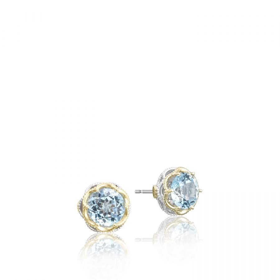 Earrings Studs - Tacori Crescent Crown 2