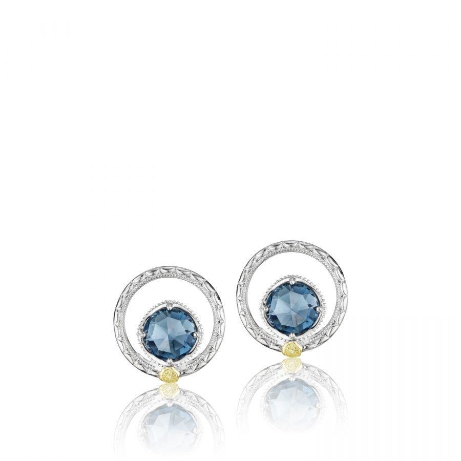 Earrings Studs - Tacori Silver Bloom 2
