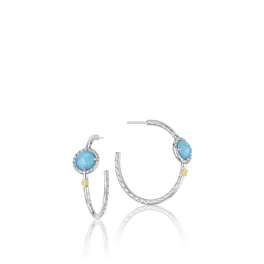 Earrings Hoop - Tacori Island Rains - Large 2