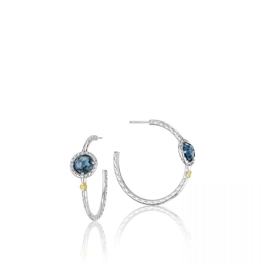 Earrings Hoop- Tacori Island Rains 2