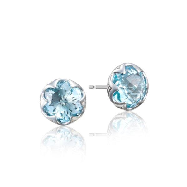 Earrings Studs - Crescent Bezel 2