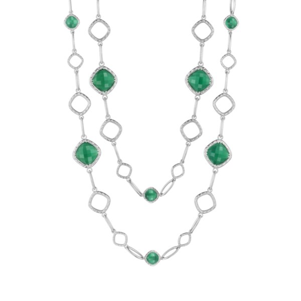 """Necklace - Tacori Crescent Embrace 36"""" 2"""