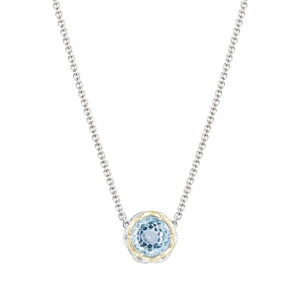 "Necklace - Tacori Crescent Crown 16"" 2"